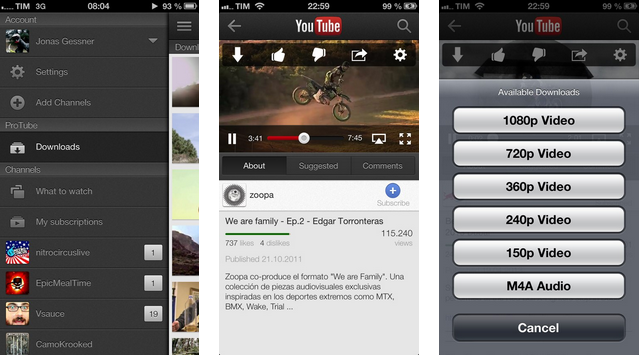 Download youtube videos on your idevice with protube extension 20 the popular protube extension jailbreak app has just been updated to version 20 bringing tons of new features and improvements ccuart Image collections