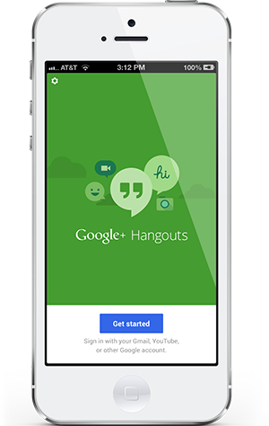 Google hangouts for ios gets updated links invites and bug fixes